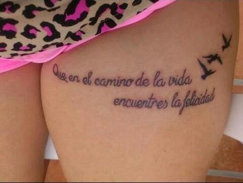 tatuajes italiano pequeña mama en Granada