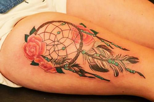 tatuajes de atrapasueos hermosos y femeninos tatuajes para mujeres