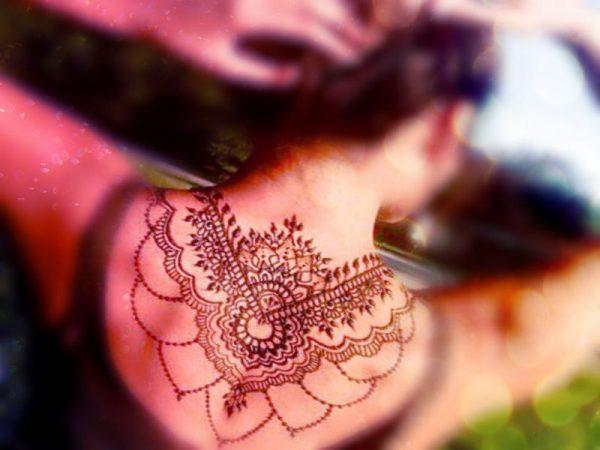 Tatuajes Mehndi Espalda : Tatuajes de henna im�genes dise�os como hacerlos y