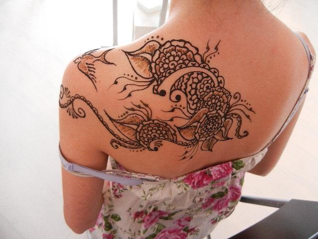 Tatuajes de henna: imágenes, diseños, como hacerlos y