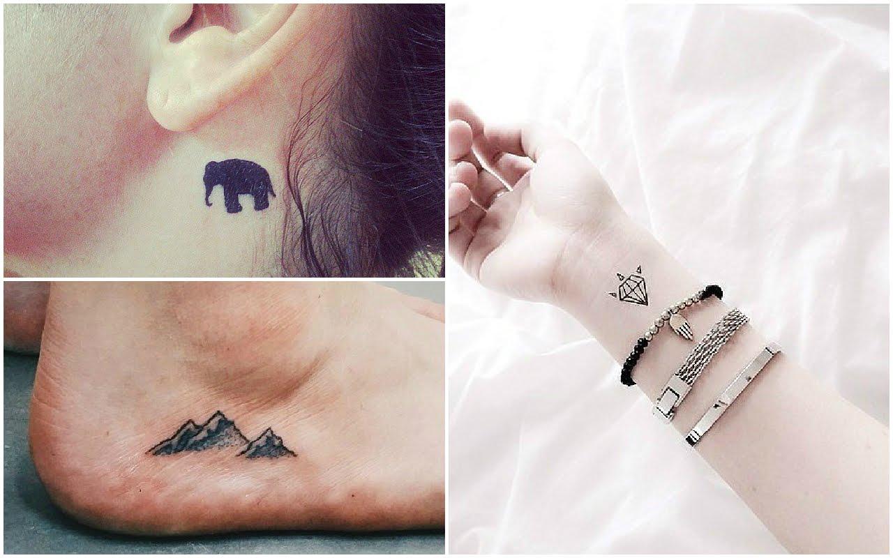230 Tatuajes Para Mujeres Pequenos Sutiles Y Delicados