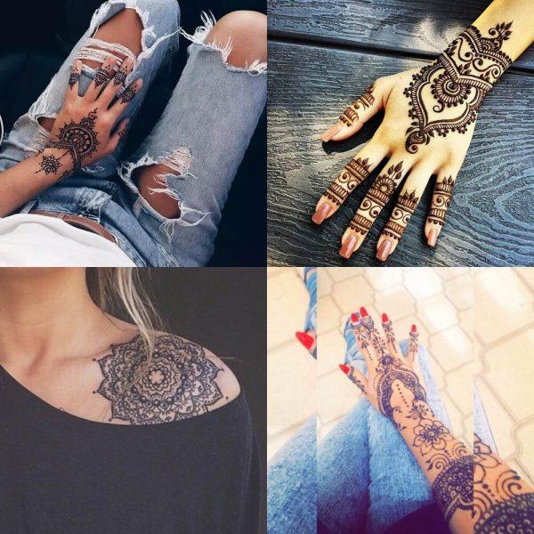 225 Tatuajes en la mano mueca y dedos para mujeres