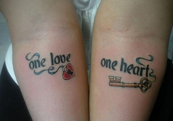 101 Tatuajes De Amor Para Parejas Pequeños Y Originales