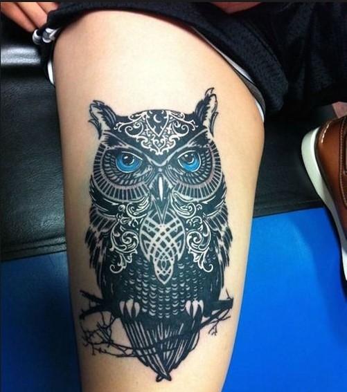 108 Tatuajes De Buhos Y Hadas Para Mujer