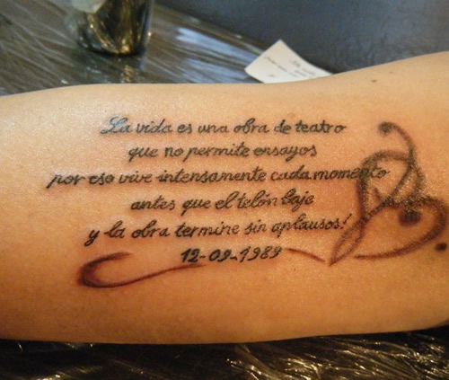 Frases Cortas Para Madres Tatuajes En Español