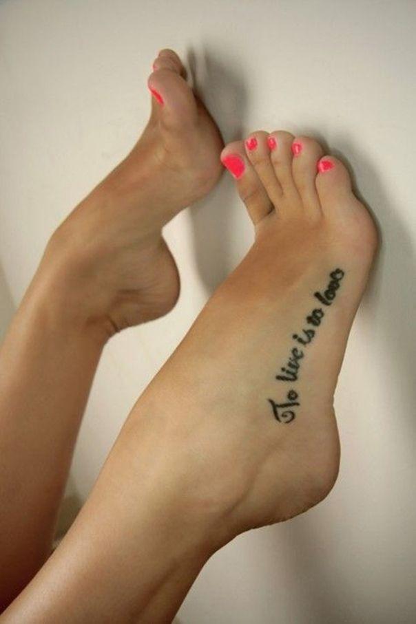 Tatuajes Para Mujeres En El Pie Diseños Creativos Y Originales