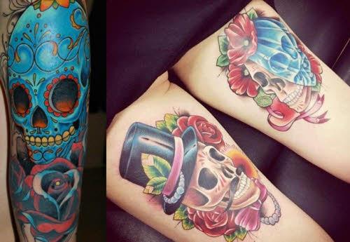 Tatuajes De Calaveras Mexicanas Increibles