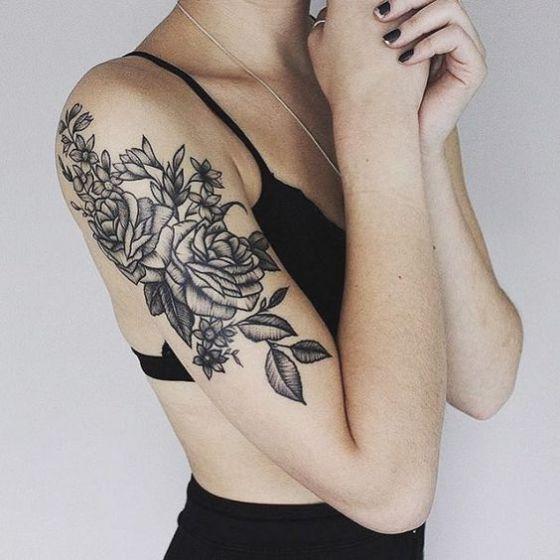 99 Tatuajes De Rosas Disenos Para Mujer