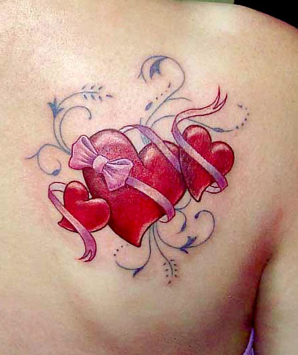 Tatuaje Corazon3 Tatuajes Para Mujeres
