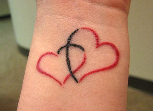 Tatuaje De Corazon Para Parejas Tatuajes Para Mujeres
