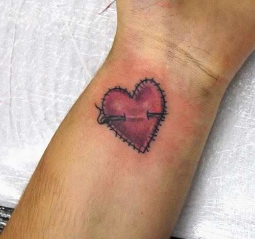 Tatuajes De Corazones Dise 241 Os Peque 241 Os Y Originales