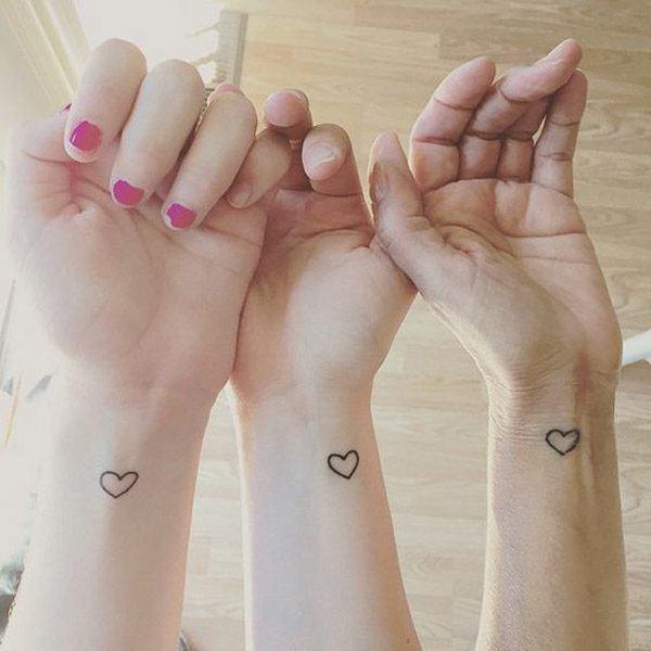 Tatuajes de corazones diseños pequeños y originales | Tatuajes para ...