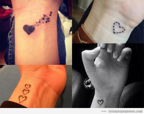 Tatuajes Pequenos Corazones Muneca 720570 Tatuajes Para Mujeres