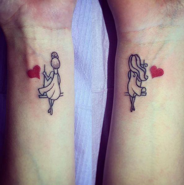 100 Tatuajes Para Mejores Amigas Con Disenos Geniales - Ideas-para-tatuajes-originales