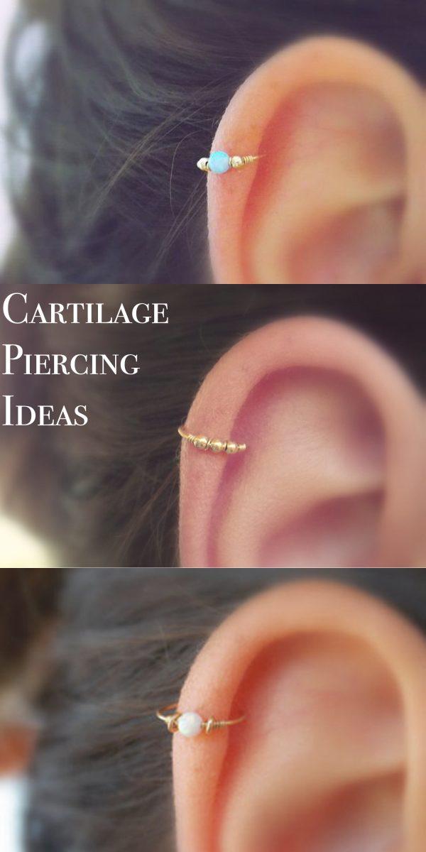 Piercing En La Oreja Imágenes Tipos Y Tendencias