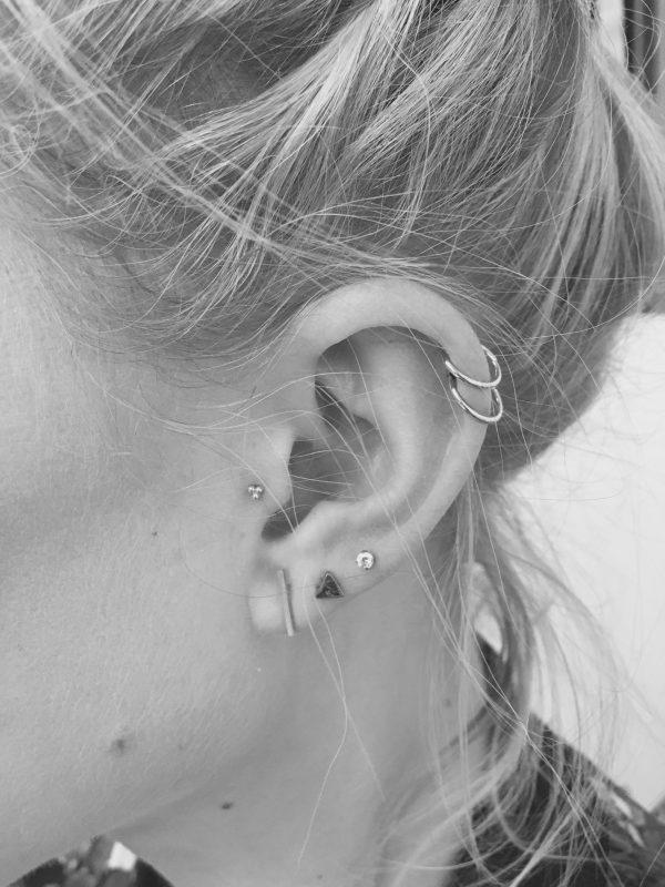6c3795ea35fa ... piercing para la oreja Aro sobre el cartilago