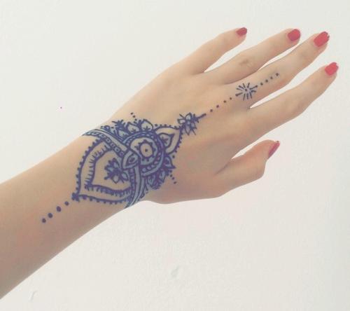 Tatuajes de henna imgenes diseos como hacerlos y cuidarlos