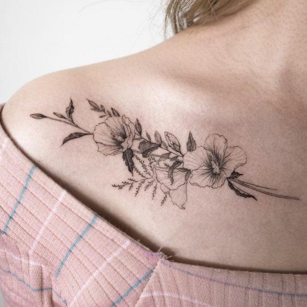 Tatuajes De Flores Para Mujeres Disenos Hermosos