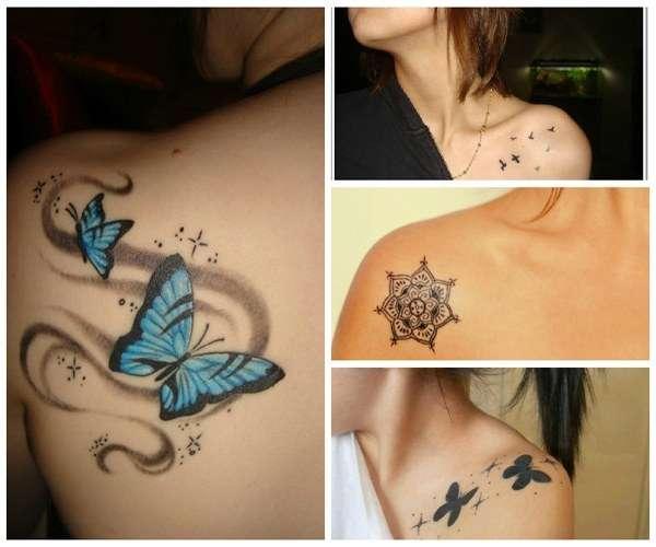 Tatuajes Para Mujeres Hombro Imagen Tatuajes Para Mujeres - Tatuajes-diseos-para-mujeres-en-el-hombro