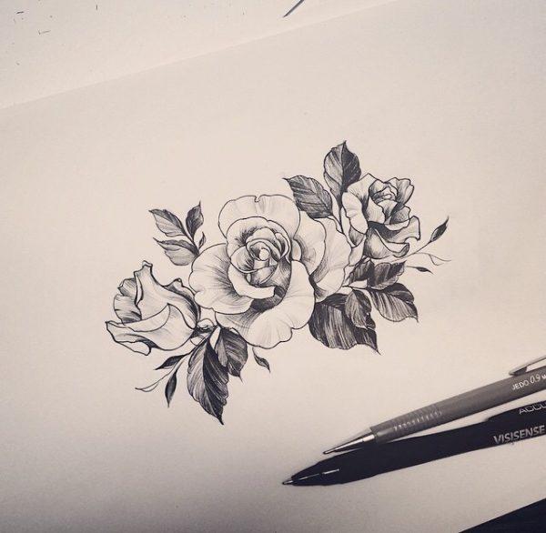 Tatuajes De Flores Para Mujeres Diseños Hermosos