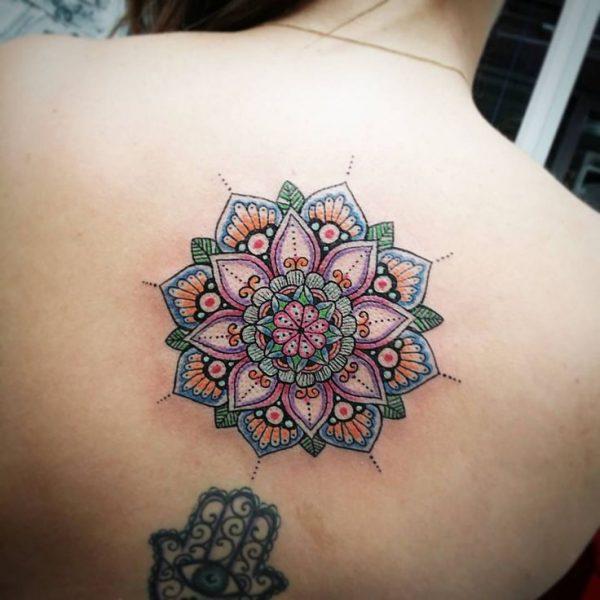 Flor De Loto Rosa Tattoo Sfb