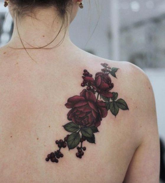 Tatuajes Para Mujeres En La Espalda