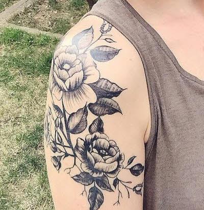 Imagenes De Tatuajes Mujer Flor En Hombro Tatuajes Para Mujeres