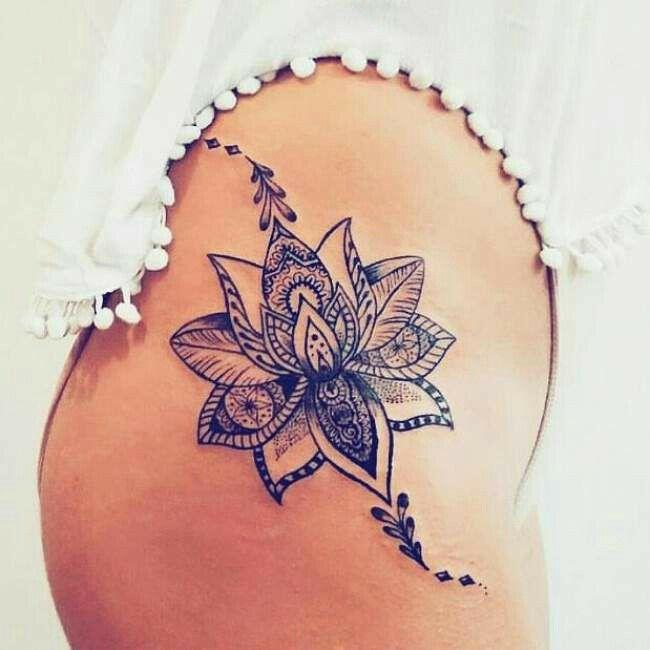 Tatuajes Para Mujeres En La Cadera Ideas Y Diseños Sensuales