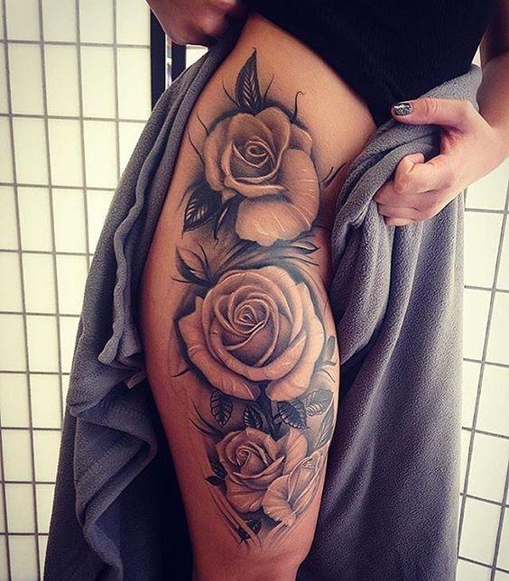 Tatuajes De Rosas Para Mujeres En El Brazo 5 Tatuajes Para Mujeres