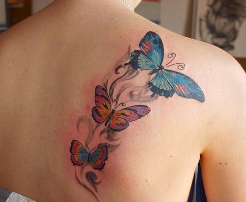 Tatuajes Para Mujeres En La Espalda - Tatuaje-para-mujeres-en-la-espalda