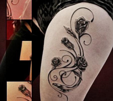 Tatuajes Para Mujeres En La Pierna Dise 241 Os Geniales