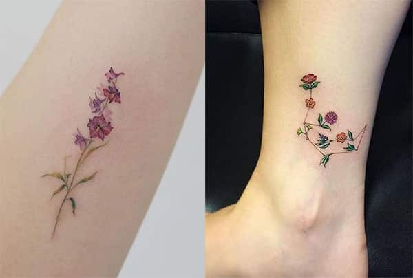 Tatuajes Para Mujeres En La Pierna Diseños Geniales