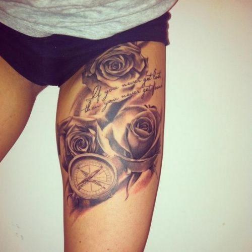 Tatuajes Para Mujeres En La Pierna Disenos Geniales