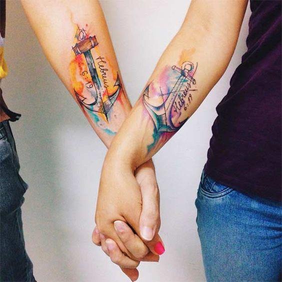 150 Tatuajes Para Parejas Con Diseños 2018 2019 Para Hombres Y Mujeres