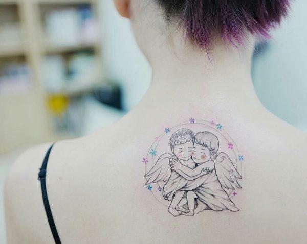 @tattooist banul tatuaje ángeles Tatuajes de ángeles diseños increibles