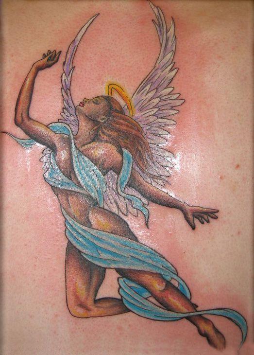 Tatuajes De ángeles En Mujeres 13 Tatuajes Para Mujeres