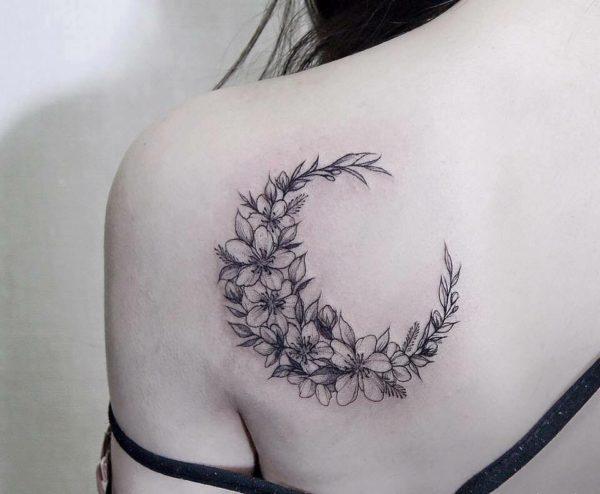 Tatuajes De Lunas Con Significado Y Disenos Hermosos Y Originales
