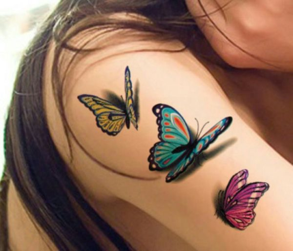 Hermosos Tatuajes De Mariposas Ideas Disenos Y Significados Para