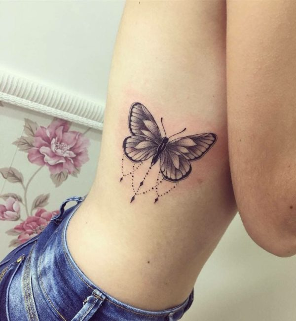 Hermosos Tatuajes De Mariposas Ideas Diseños Y Significados Para
