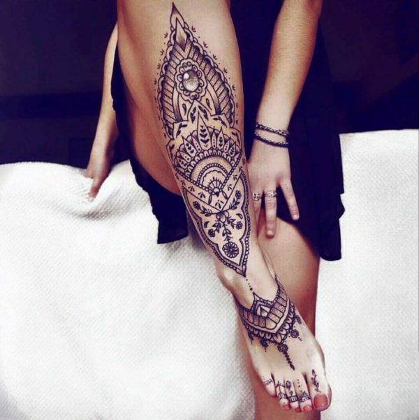 Diseños De Tatuajes De Mandalas Maravillosos