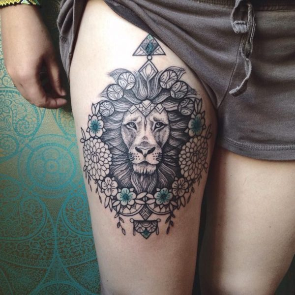 Tatuajes Maravillosos De Animales Para Mujeres