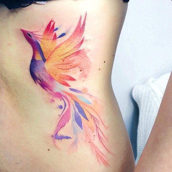 Tatuajes De Pájaros Espectaculares