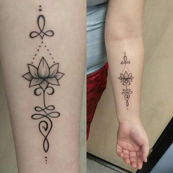 Tatuajes Unalome Significado Fotos Y Diseños Para Mujeres
