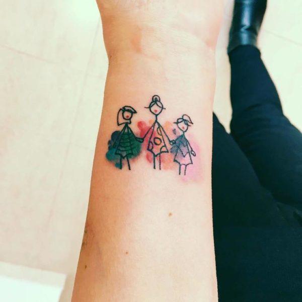 My Tattoo I Recently Got Dedicated To My Relatives That: 60 Tatuajes De Hijos Para Mamas Que Muestran Su Amor