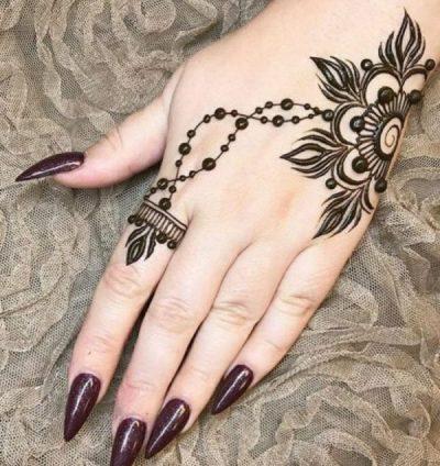 Tatuaje Para La Mano Mujer